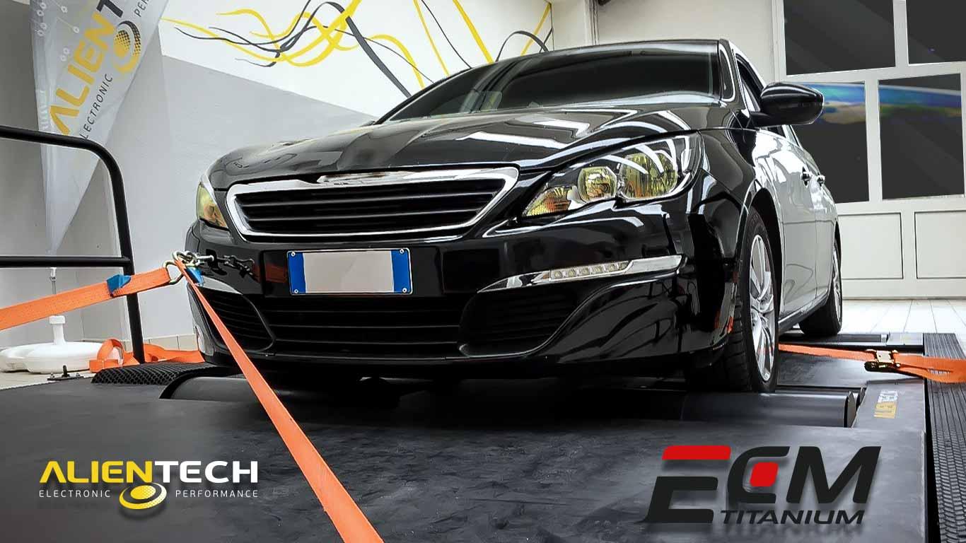 Peugeot 308 1 6L e-HDi 115PS - Alientech News & Blog