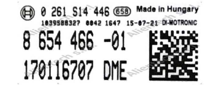 Etichetta ECU